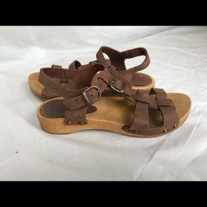 13181fe1a8bc7 Sanita OLISE FLEX antique brown sandal 39